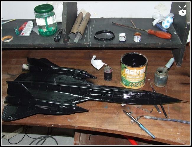 Comment peindre une maquette a la bombe for Peindre a la bombe sur metal